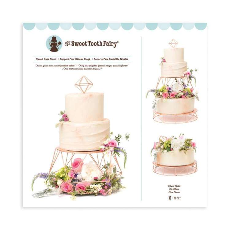 American Crafts Sweet Tooth Fairy Tiered Cake Stand