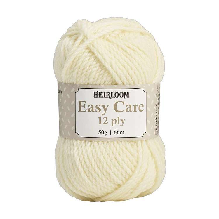 Heirloom Easy Care 12 Ply Pure Wool Yarn