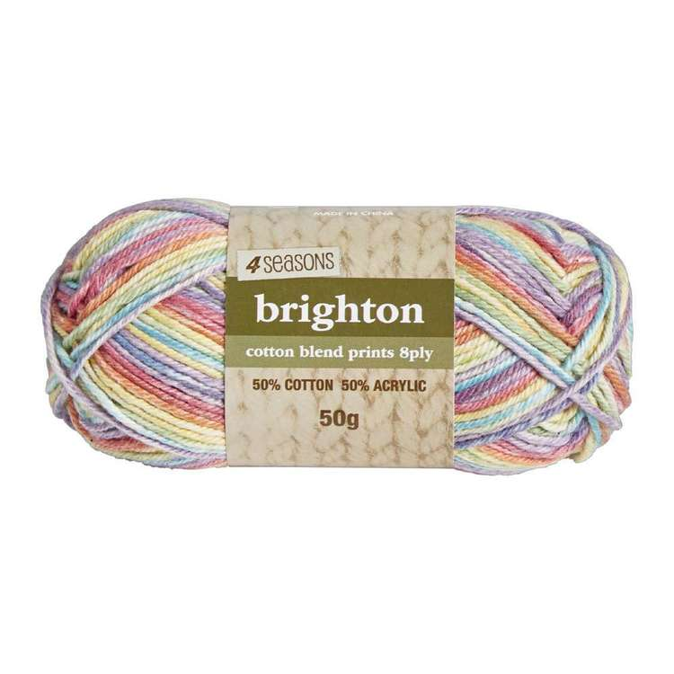 4 Seasons Brighton Cotton Blend 8 Ply Printed Yarn