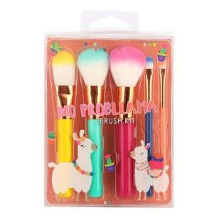 No Prob-Llama 5 Piece Brush Kit