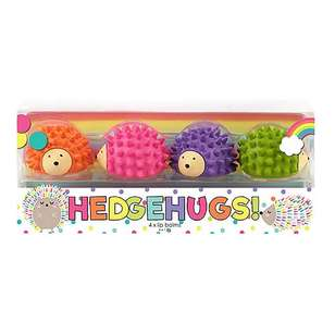 BYS Hedgehugs! Lip Balms 4 Pack
