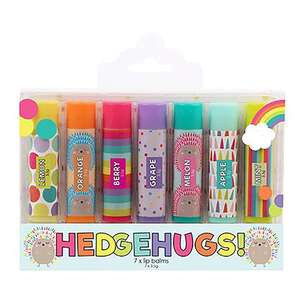 BYS Hedgehugs! Lip Balm Sticks 7 Pack