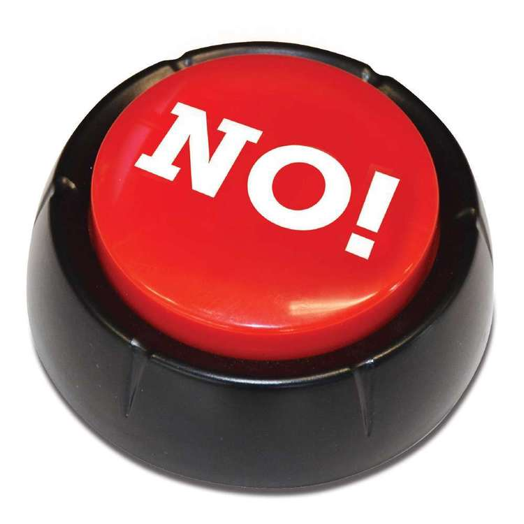 IS Gift The No! Button