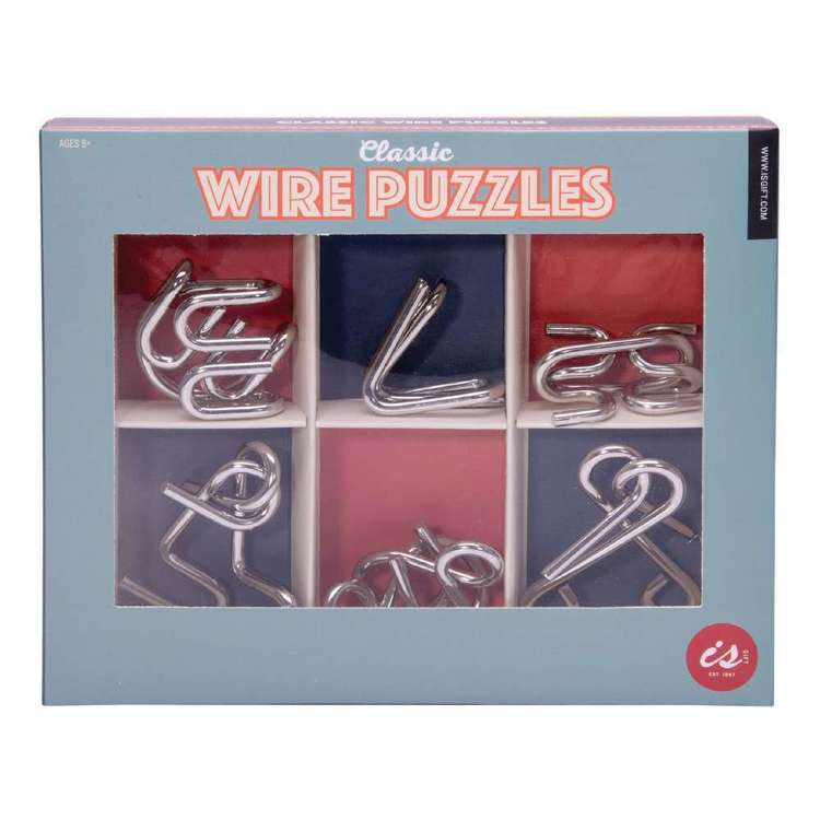 IS Gift Classic Wire Puzzles