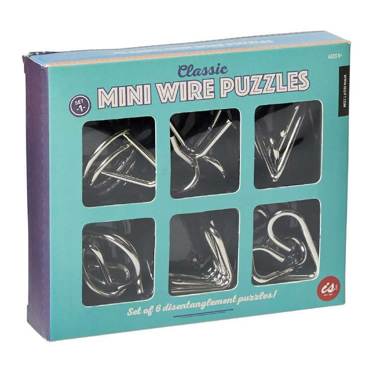 Is Gift Classic Mini Wire Puzzles
