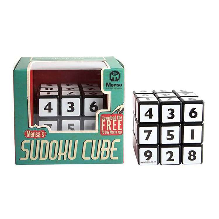 Mensa Sudoku Cube