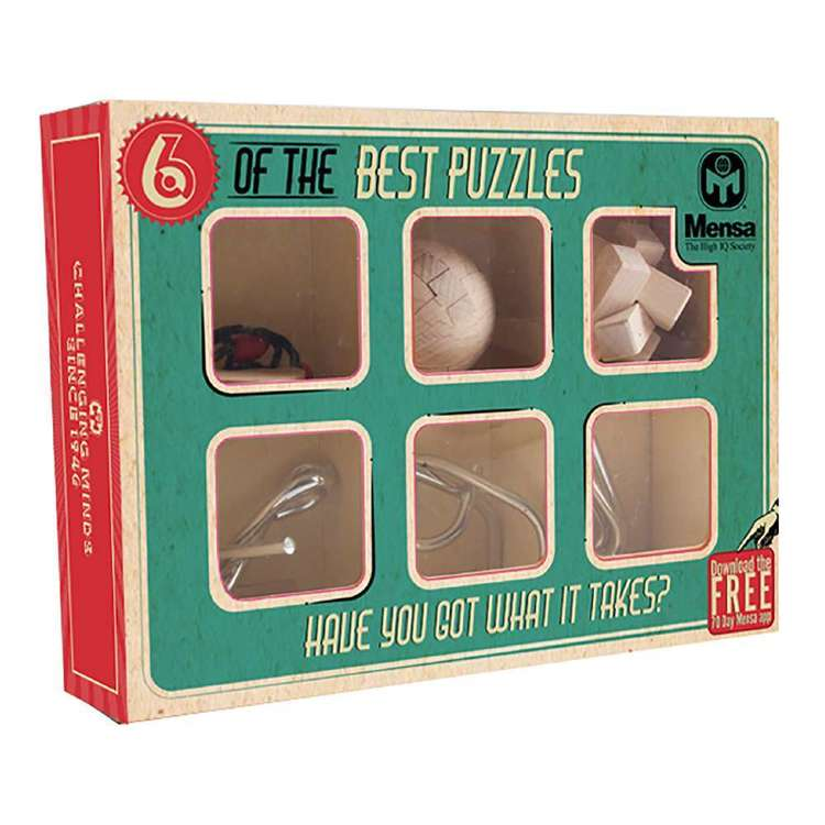 Mensa 6 Of The Best Puzzles
