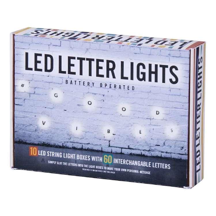 LED Cinematic Letter String Lights