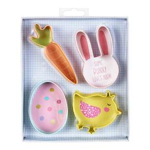 Happy Easter Cookie Cutters 4 Pack