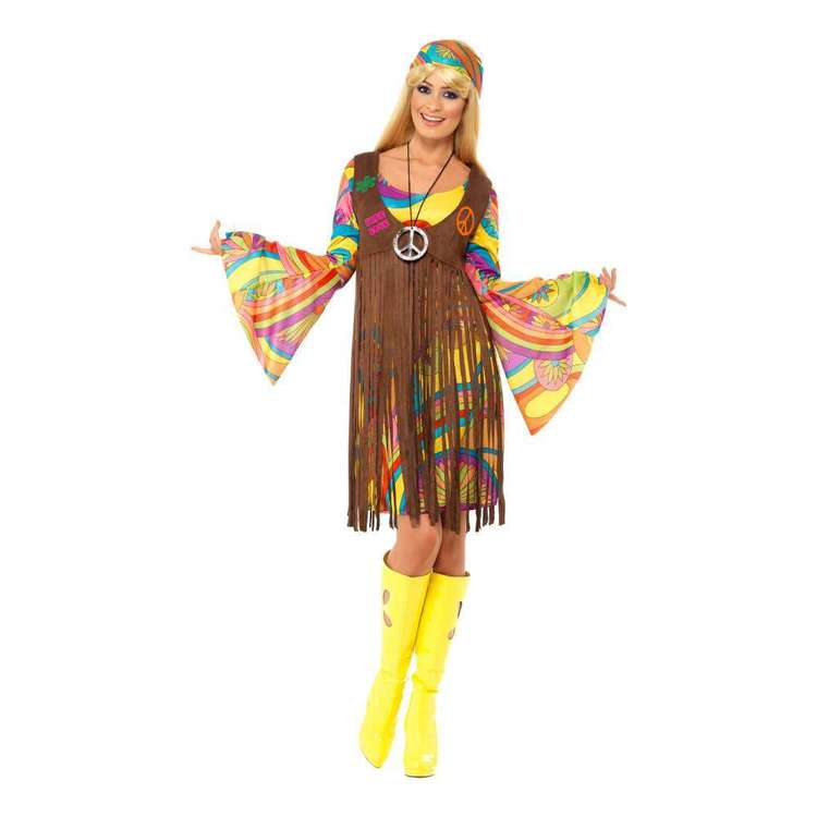 Smiffys 60s Groovy Lady Costume