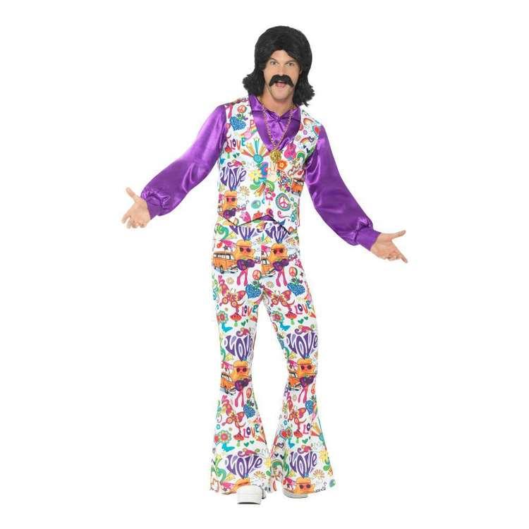 Smiffys 60s Groovy Hippie Costume