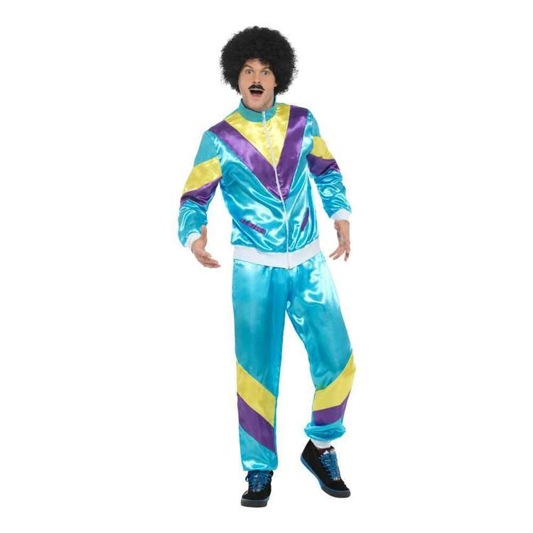 Smiffys 80s Fashion Shell Suit Costume