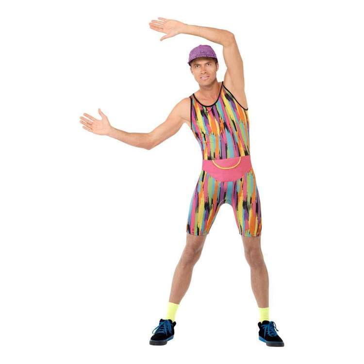 Smiffys Aerobics Instructor Costume