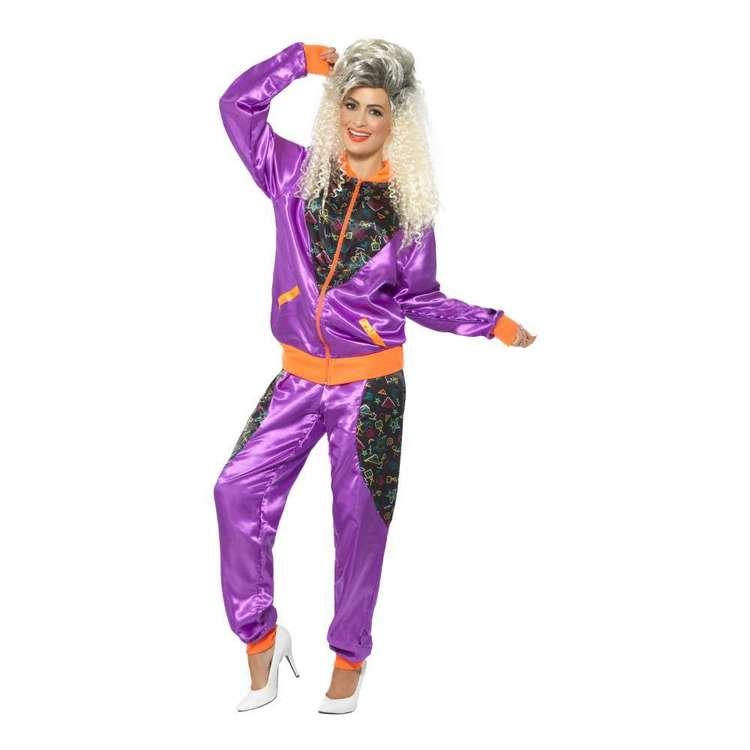 Smiffys Ladies Retro Shell Suit Costume