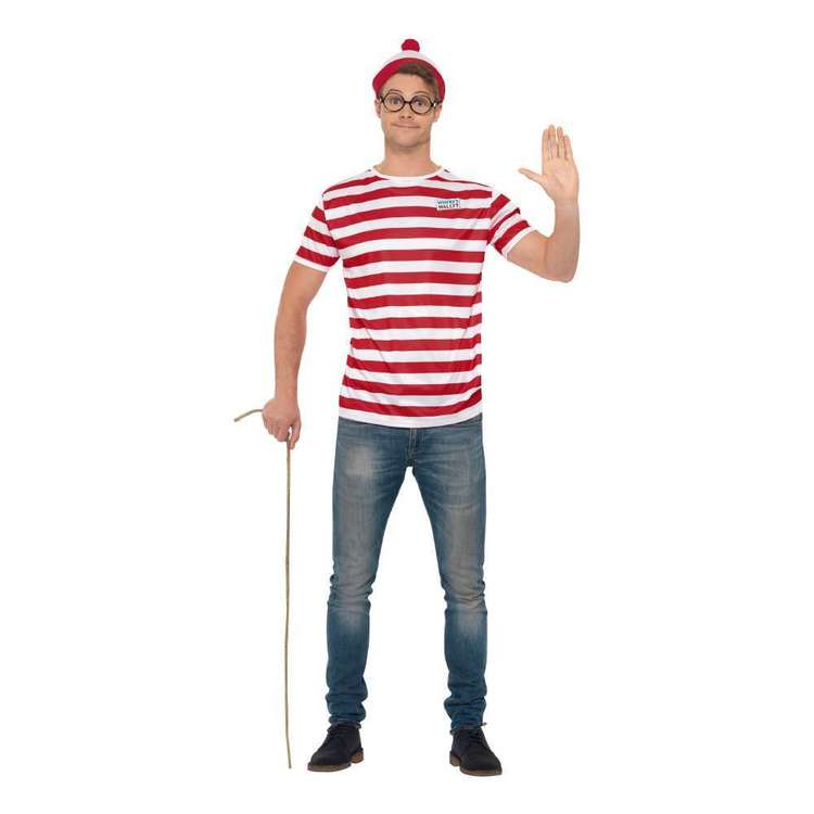 Smiffys Where's Wally Kit