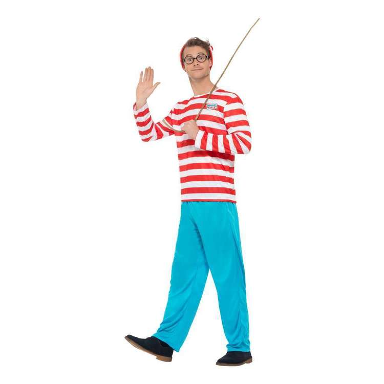 Smiffys Where's Wally? Costume