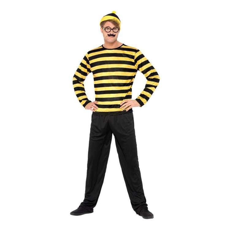 Smiffys Where's Wally? Odlaw Costume