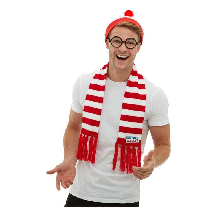 Smiffys Where's Wally? Accessory Kit