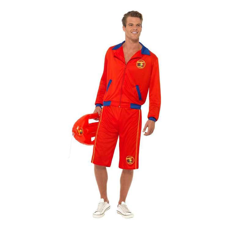 Smiffys Baywatch Men's Lifeguard Costume