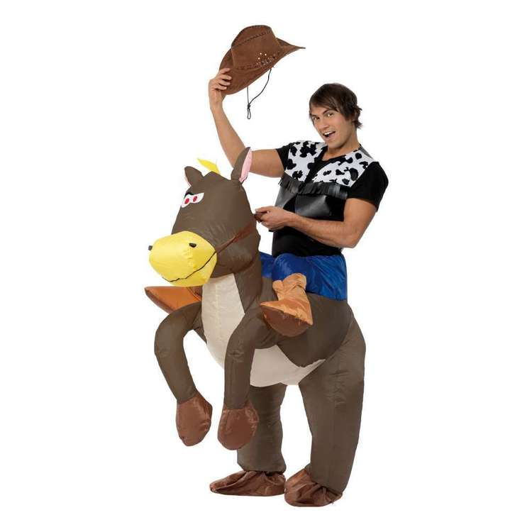 Smiffys Cowboy Inflatable Costume