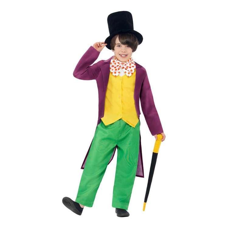 Smiffys Roald Dahl Willy Wonka Kids Costume