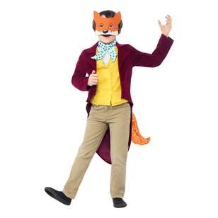 Smiffys Roald Dahl Fantastic Mr Fox Kids Costume
