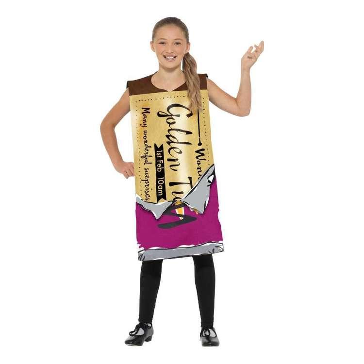 Smiffys Roald Dahl Wonka Bar Kids Costume