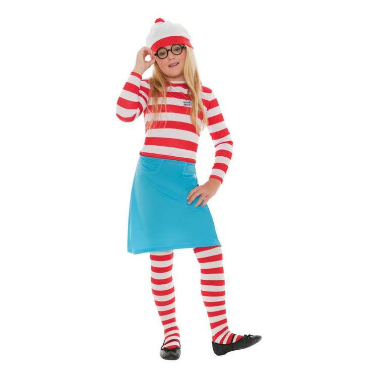 Smiffys Where's Wally? Wenda Kids Costume