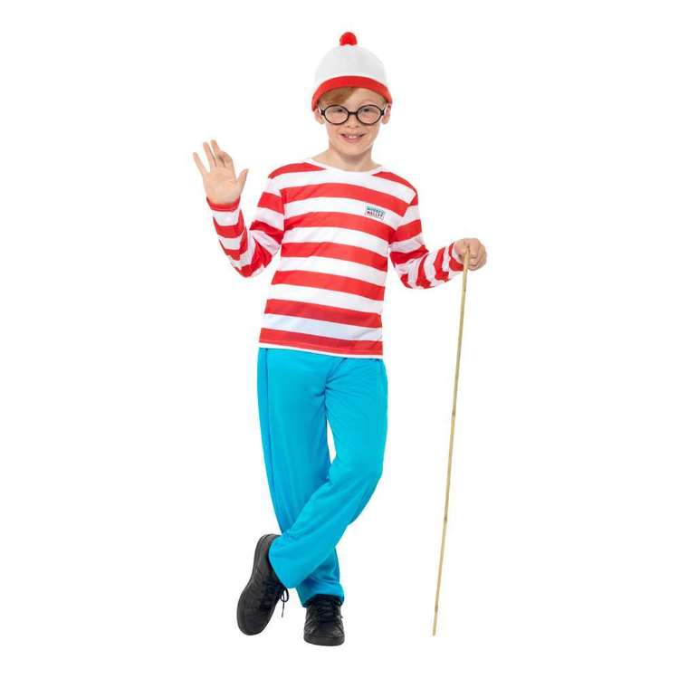 Smiffys Where's Wally? Kids Costume