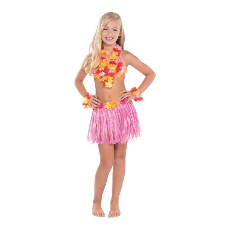 Amscan Kids Hula Skirt Kit