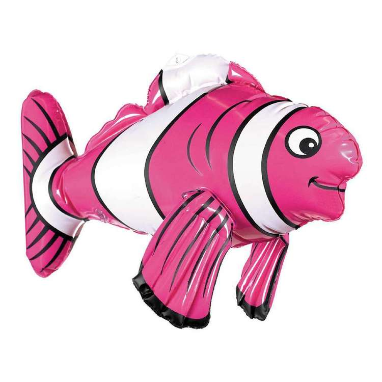 Amscan Inflatable Striped Fish