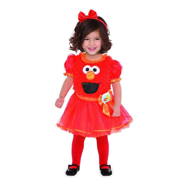 Amscan Elmo Girl Toddler Costume