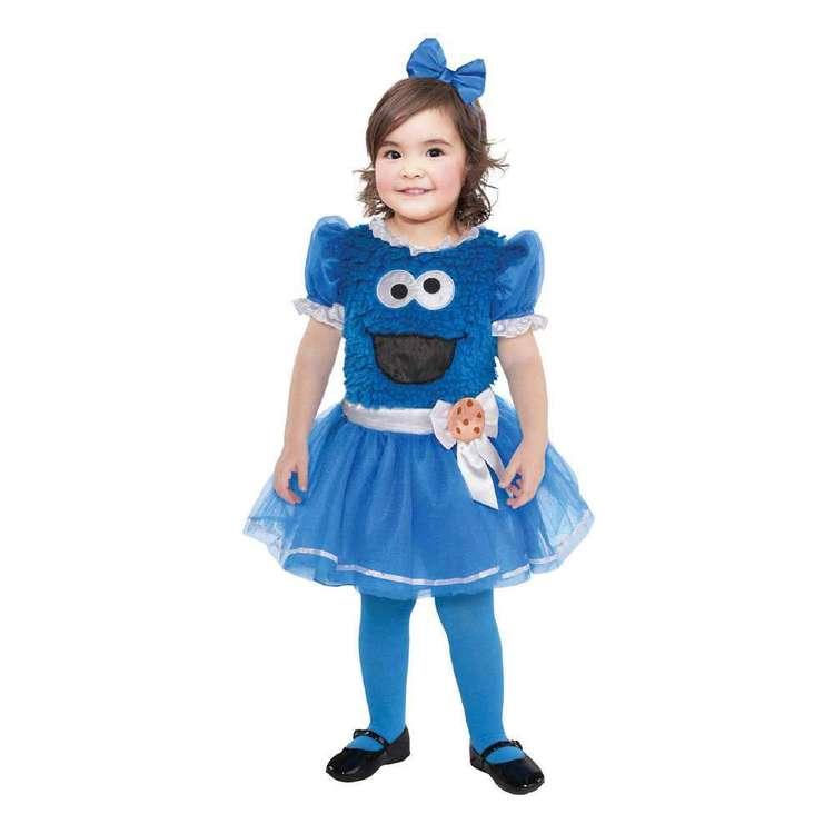 Amscan Cookie Monster Girl Toddler Costume