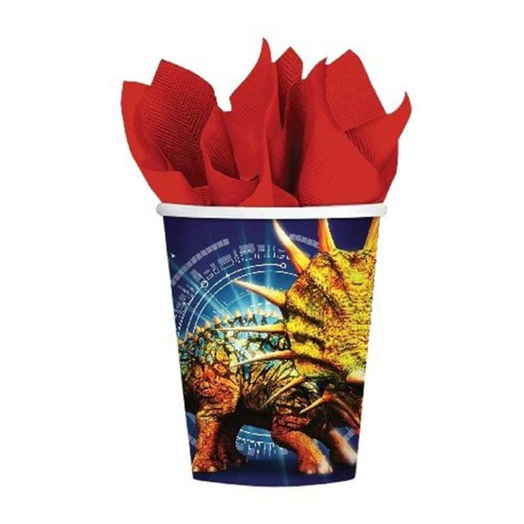 Amscan Jurassic World Paper Cups 8 Pack