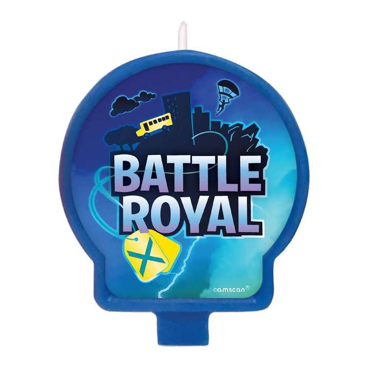 Amscan Battle Royal Birthday Candle