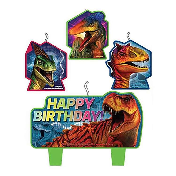 Amscan Jurassic World Birthday Candle Set