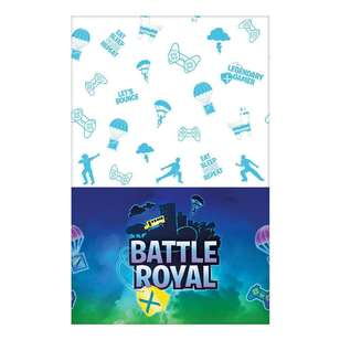 Amscan Battle Royal Paper Table Cover