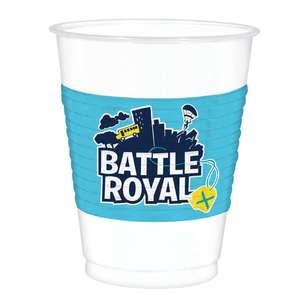 Amscan Battle Royal Plastic Cups 8 Pack