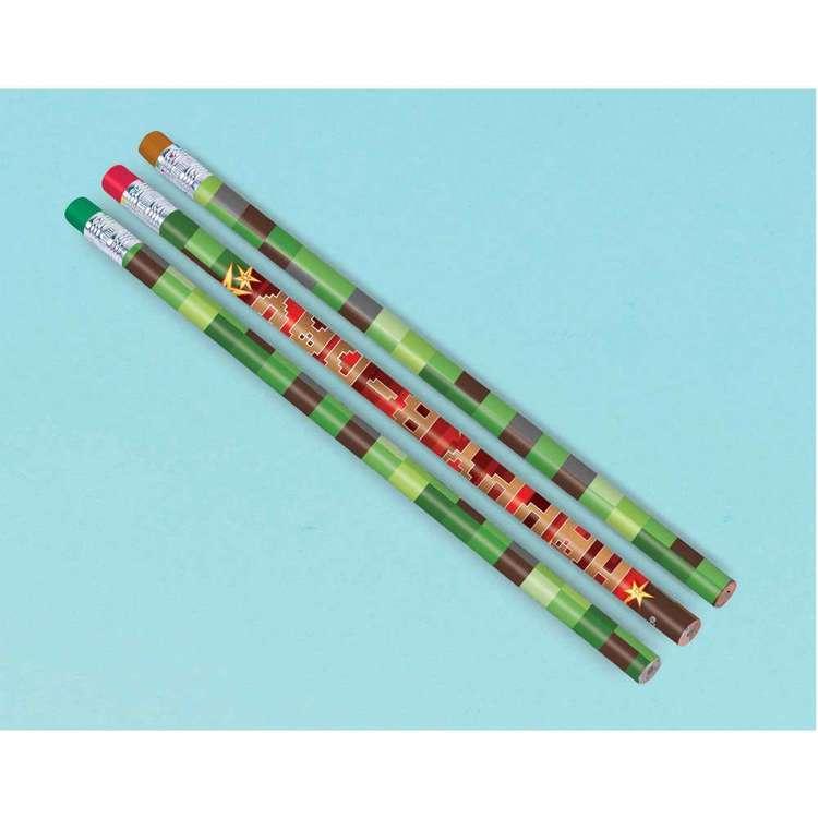 Amscan TNT Party! Pencil Favours 12 Pack