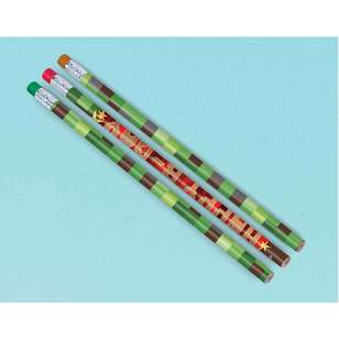Amscan TNT Party! Pencil Favours 12 Pack