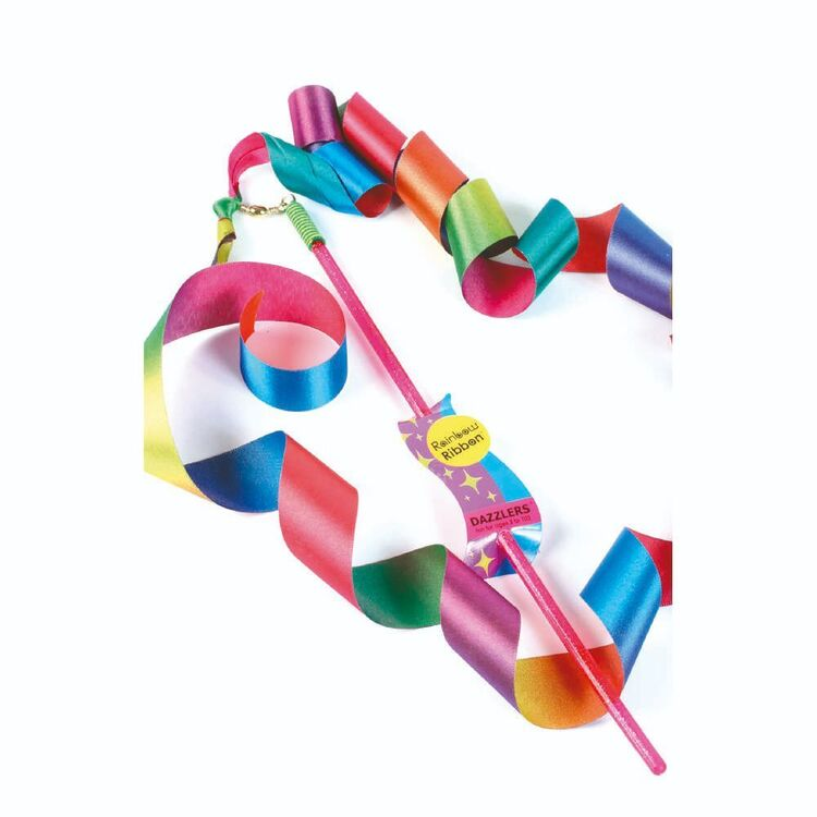 Dazzler Ribbons With Plastic Stem