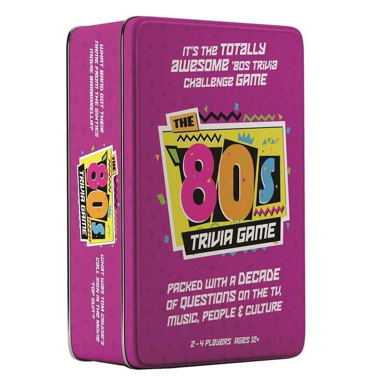The 80's Trivia Game Tin