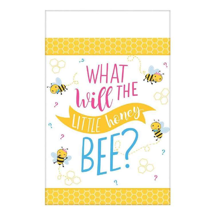 Amscan What Will It Bee? Paper Tablecover