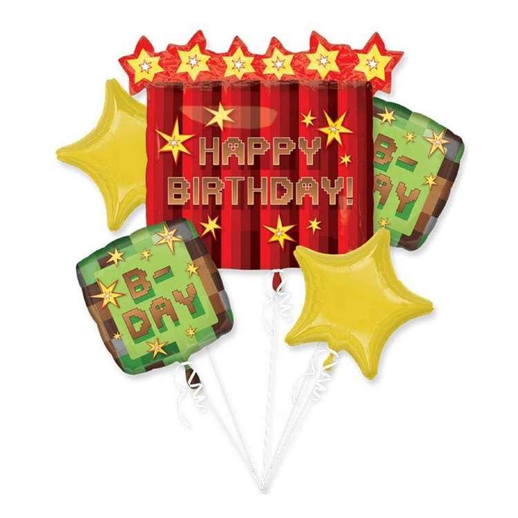 Amscan TNT Party Foil Balloon Bouquet