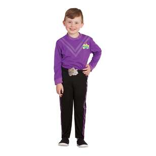 The Wiggles Lachy Wiggle Deluxe Kids Costume