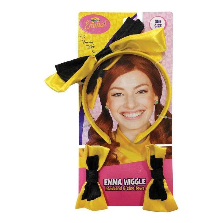 The Wiggles Emma Wiggle Headband & Shoe Bows