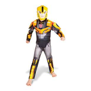 Bumblebee Fusion Transformers Kids Costume