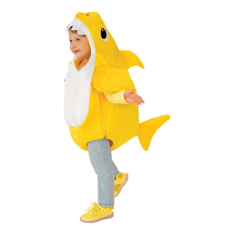 Baby Shark Deluxe Toddler Costume