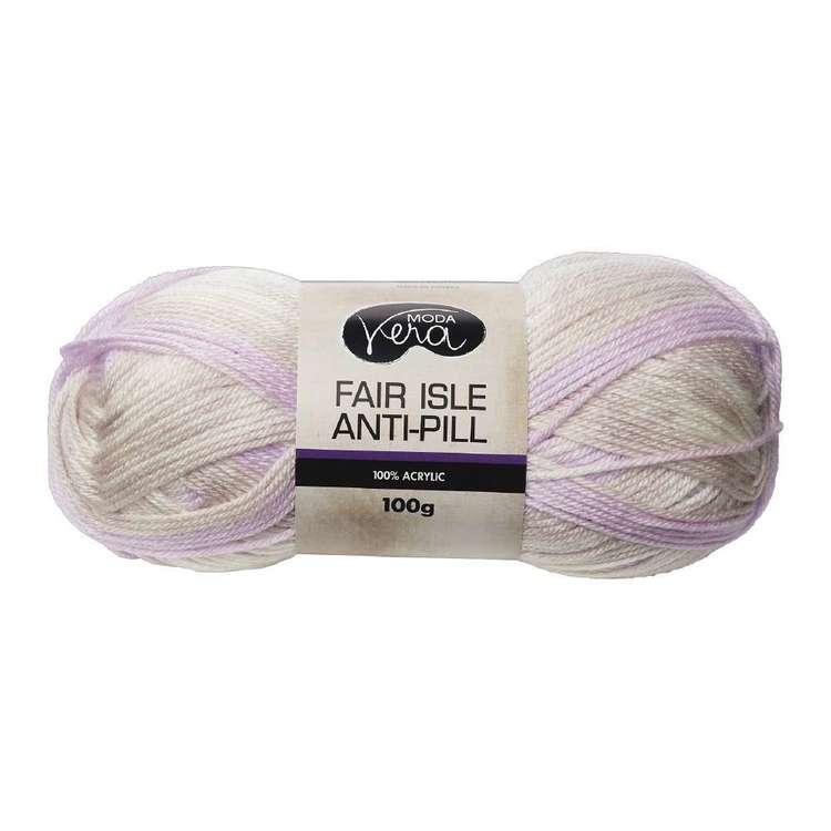 Moda Vera Fair Isle Acrylic Yarn