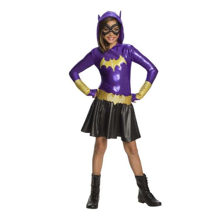 DC Comics Batgirl Hoodie Kids Costume